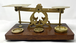 Antique English Postal Scale circa 1870-1880
