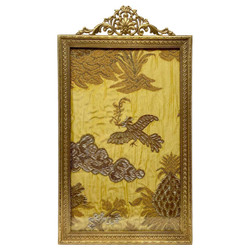 Tall Antique French Louis XV Style Bronze D'ore Portrait Picture Frame, Circa 1890.