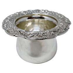"""Antique American Sterling Silver Nut Dish signed """"S. Kirk & Son,"""" Circa 1920."""