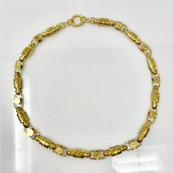 Antique American 14 Karat Necklace, Circa 1890.