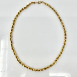 Antique 18 Karat Gold Necklace, Circa 1890.