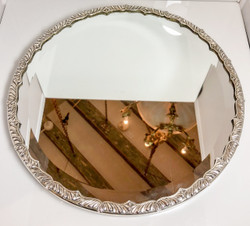 Silver-Plated Mirrored Plateau