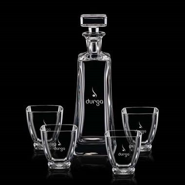 Décanteur et 4 verres Ernesta #4194