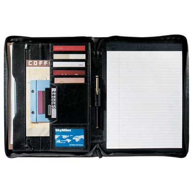 Renaissance Zippered Padfolio - Ecritoire padfolio portfolio #5335