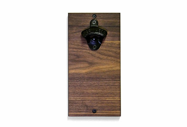 Ouvre-bouteille mural, fait au Quebec - Wall mounted bottle opener # 5542