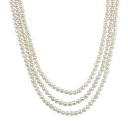Collier de perles - Pearl necklace  # 5592