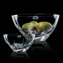 Bol de cristal,  5 pouces, personnalisé avec votre logo #5656