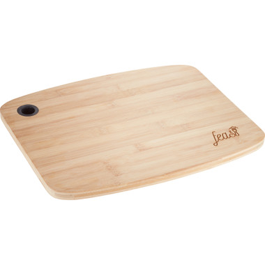 Planche a decouper en bambou, personnalisée avec votre logo  #5703