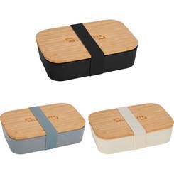Boite a lunch Bento  faite de fibre de bambou # 5725
