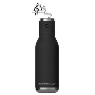 Bouteille écologique réutilisable avec haut-parleur intégré # 5746