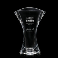 Vase personnalisé avec un logo, 10 pouces # 5779