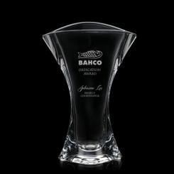 Vase personnalisé avec un logo, 12 pouces # 5780