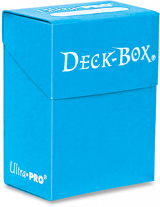 Ultra Pro - Solid Light Blue / Aqua - Deckbox