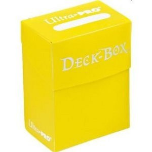 Ultra Pro - Solid Yellow - Deckbox