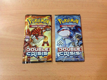 Pokemon TCG - Double Crisis - 7 Card Booster Pack