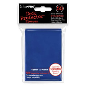 Ultra Pro Card Sleeves- Blue 50ct