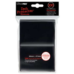 Ultra Pro Card Sleeves- Black 50ct
