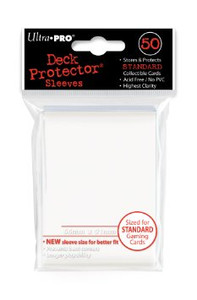 Ultra Pro Card Sleeves- White 50ct