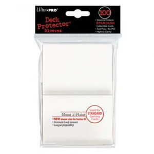 Ultra Pro Card Sleeves- White 100ct