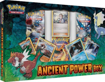 Pokemon TCG - Ancient Powers - Gift Box