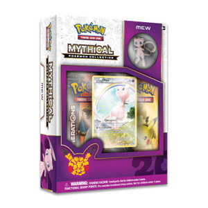Mythical Pokemon Mew Collection - Includes 2x Generations Booster Packs