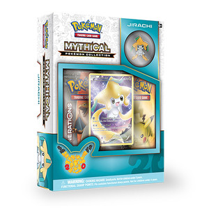 Mythical Pokemon Jirachi Collection - Includes 2x Generations Booster Packs