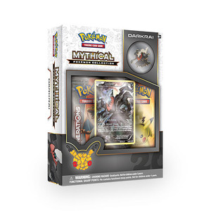 Mythical Pokemon Darkrai Collection - Includes 2x Generations Booster Packs