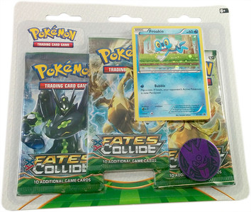 Pokemon TCG- Fates Collide- Froakie Blister Pack
