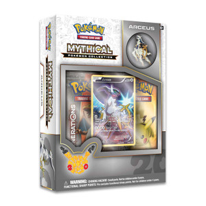 Mythical Pokemon Arceus Collection - Includes 2x Generations Booster Packs