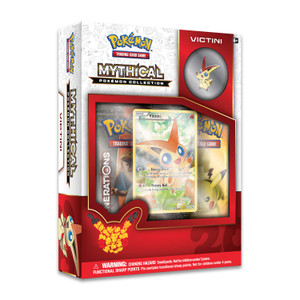 Mythical Pokemon Victini Collection - Includes 2x Generations Booster Packs