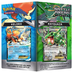 Pokemon TCG- Battle Arena Decks- Keldeo and Rayquaza