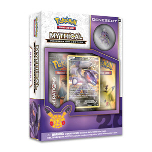 Mythical Pokemon Genesect Collection - Includes 2x Generations Booster Packs