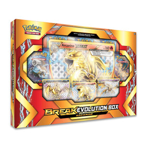 Pokemon TCG- Arcanine BreakEvolution Box
