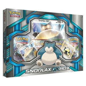 Pokemon TCG- Snorlax GX Box