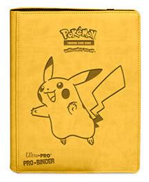 Pokemon- Premium PRO-Binder Pikachu