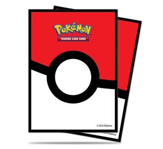 Ultra PRO Pokemon Standard Size Sleeves 65ct Pack Pokeball