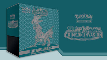 Pokemon TCG - Sun & Moon - Crimson Invasion - Elite Trainer Box