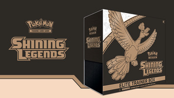 Pokemon TCG - Shining Legends - Elite Trainer Box