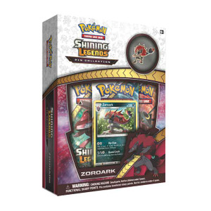 Pokemon TCG - Shining Legends Pin Collection - Zoroark