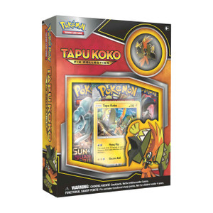 Pokemon TCG - Pin Collection - Tapu Koko
