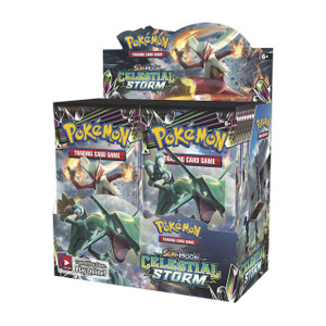 Pokemon TCG - Sun & Moon - Celestial Storm - Booster Box