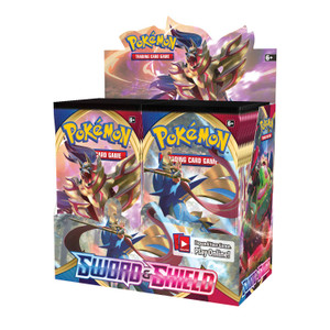 Pokémon TCG: Sword & Shield Booster Display Box (36 Packs)