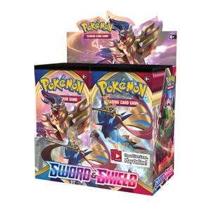 Pokémon TCG: Sword & Shield Booster Display Box (36 Packs)