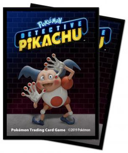 Pokémon: Detective Pikachu - Mr.Mime Deck Protector sleeves 65ct