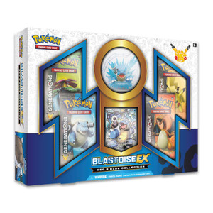 Pokémon TCG: Red & Blue Collection—Blastoise-EX