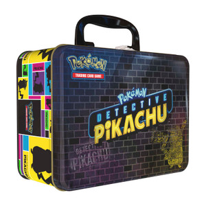 Pokémon TCG: Detective Pikachu Collector Chest Lunch Box