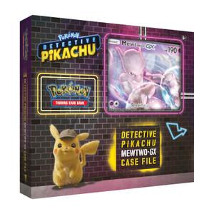 Pokemon TCG: Detective Pikachu Mewtwo-Gx Case File
