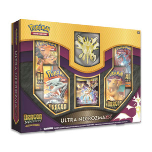 Pokémon TCG: Dragon Majesty Figure Collection with Ultra Necrozma-GX