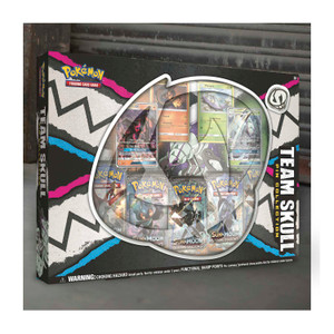 Pokémon TCG: Team Skull Pin Collection featuring Golisopod-GX & Salazzle-GX