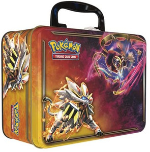 Pokemon TCG: Spring 2017 Collector Chest Tin (Lunch Box) - Lunala & Solgaleo